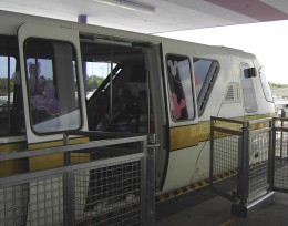 You can't drive a car directly to the Magic Kingdom, but you can wait for the monorail or stay at a resort with a station. (Don't forget to bring handheld games or toys!)