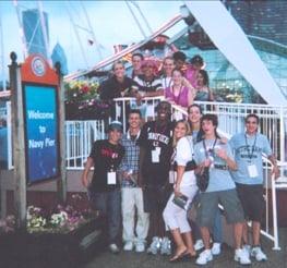 Great summer of 2004 as a student at the conference.