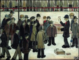 LS Lowry - Manchester City vs Sheffield United 1938