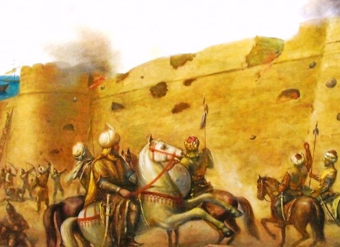 The Ottomans gained control of Farmagusta after along siege.