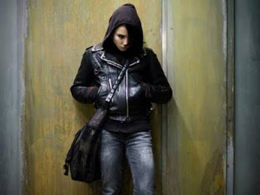 Noomi Rapace as Lisbeth Salander in the Swedish movie