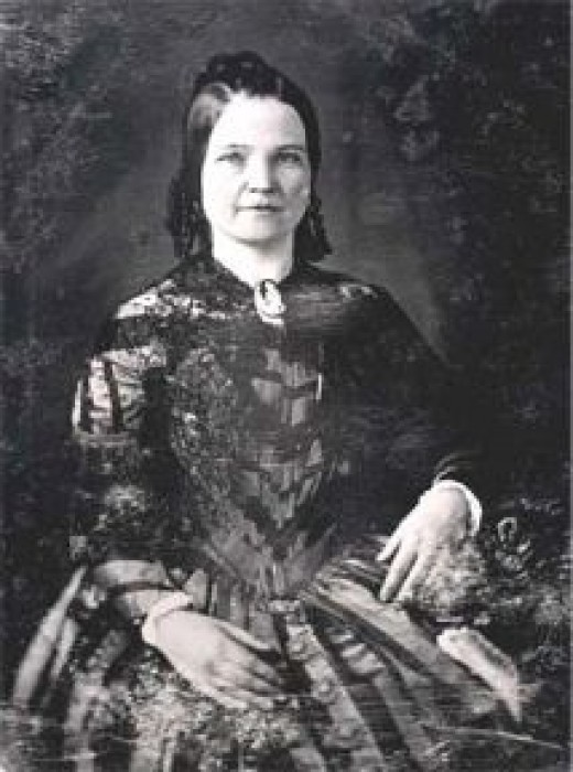 First Lady Mary Todd Lincoln  Photo courtesy of Wikipedia