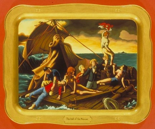 Raft of the Minnow - Isabel Samaras