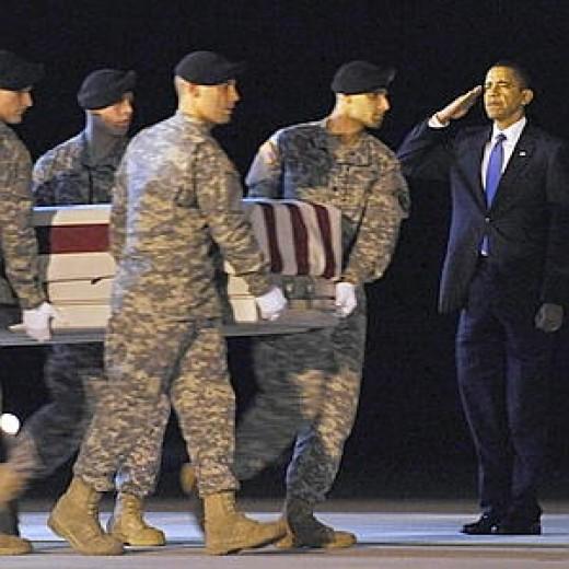 The War in Afghanistan:     October 7, 2001- Present117 months                                     President Barack H. Obama