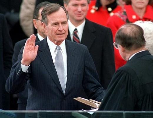 President George Herbert W. Bush