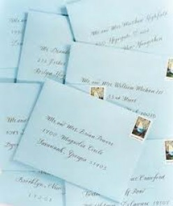 What and How to Address Modern or Classic Wedding Invitations Using Font Envelopes