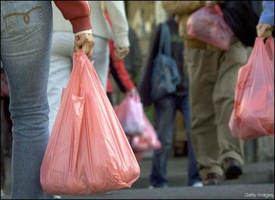 The common or garden plastic bag