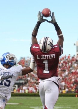WR Alshon Jeffrey South Carolina