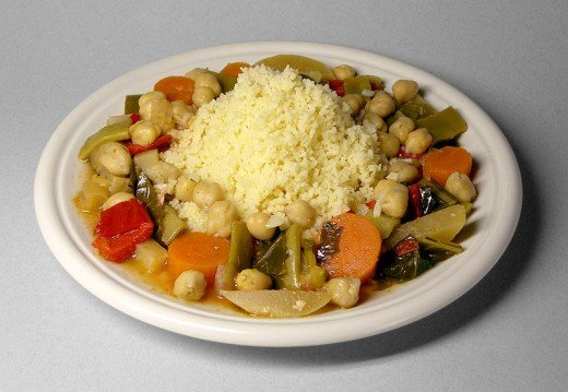 Couscous of morocco