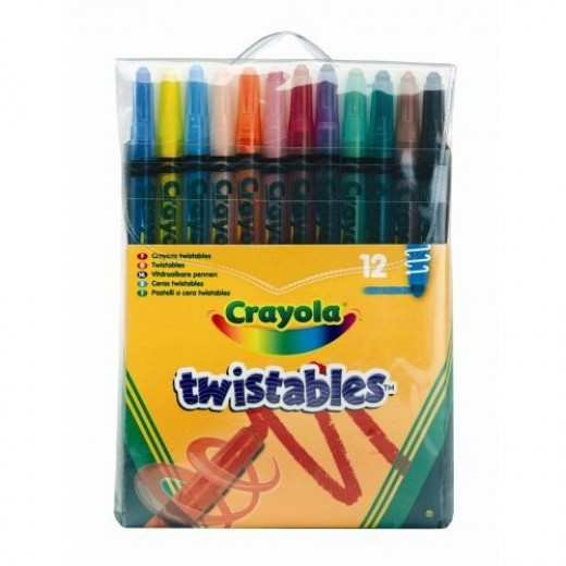 Crayola Twistable color pencils.