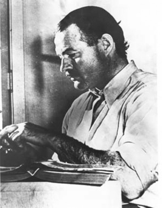 For a long time now I have tried simply to write the best I can. Sometimes I have good luck and write better than I can.  ~ Ernest Hemingway