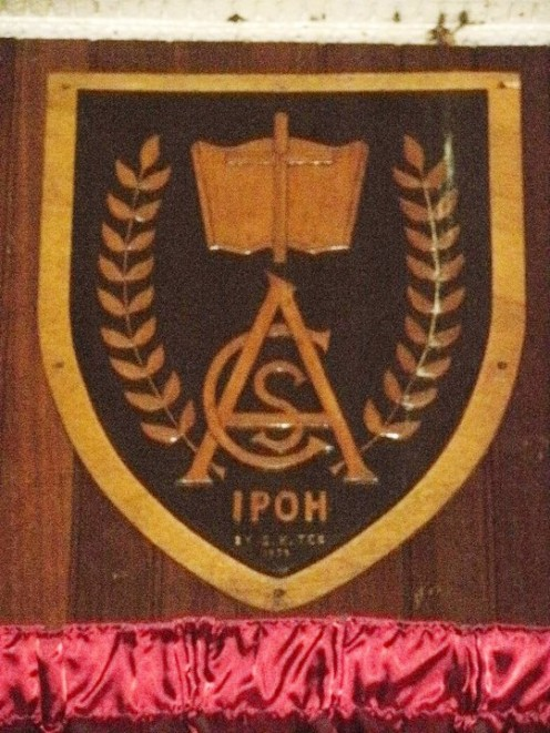 ACS Ipoh - Old School Crest