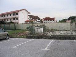 ACS Ipoh - Walled up