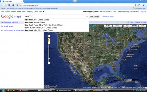 Google Maps SearchAssist