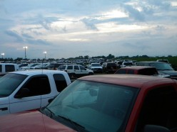 The popularity of Needmore Speedway is clearly evident