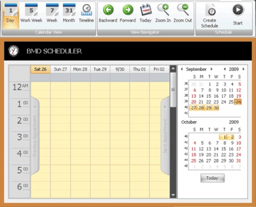 One of my favourite features: the scheduler.