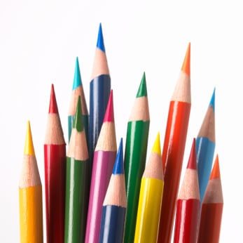 Pencil crayons from homesanctuary.com