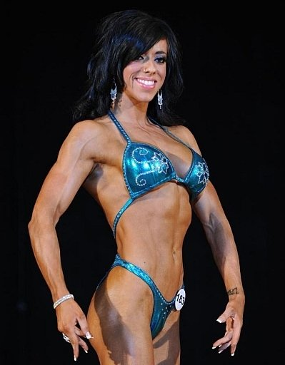 Sarah Connors - women fitness competition