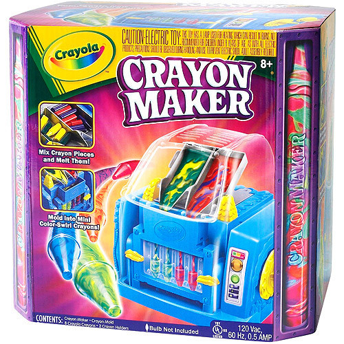 Crayola Crayon Maker for kids 8 years and up.
