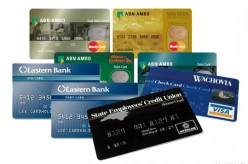 ATM cards