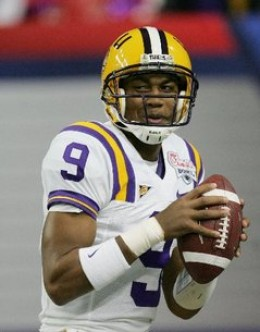 QB Jordan Jefferson    LSU