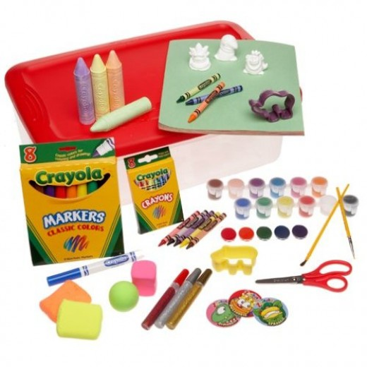 Crayola art craft cases for creative kids.