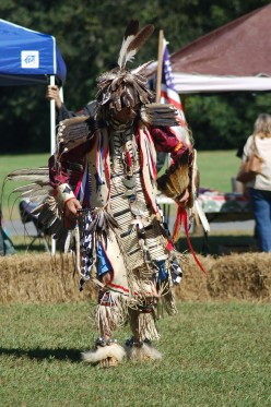 The Native American Indians will accept you as a vendor, if you have plenty of experience under your belt!  Photo taken by my wife.