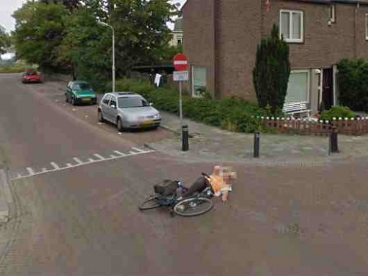 how to use google earth street view