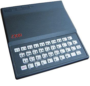 The ZX81 was a sleek looking beast