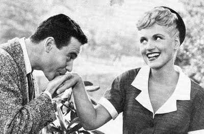 Young Jack with Judy Holliday
