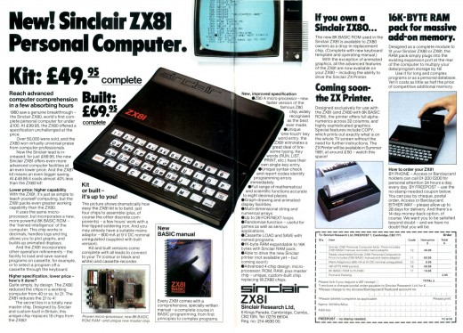The POWER of a fully kitted out ZX81