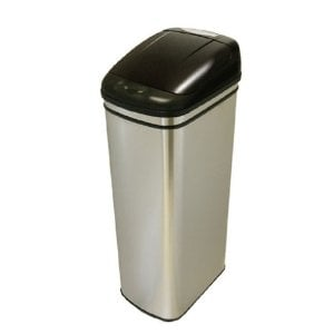 iTouchless Stainless-Steel Hands-Free 13-Gallon Infrared Automatic Trash Can