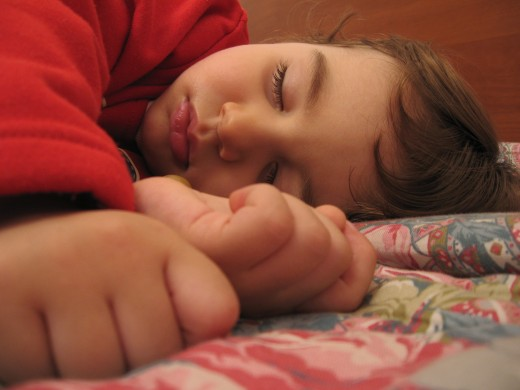 A napping child Image Credit: Wikipedia