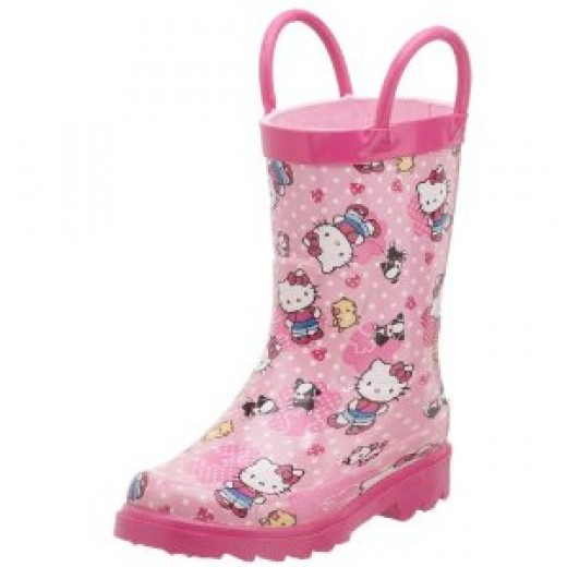 Hello Kitty rain boots for girls