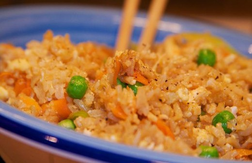 Here's some egg fried rice