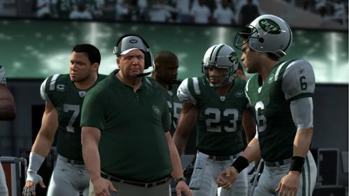 New York Jets Sidelines
