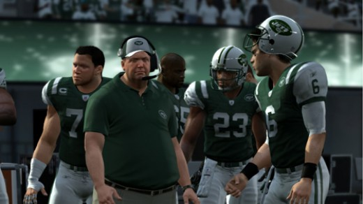 New York Jets Sidelines