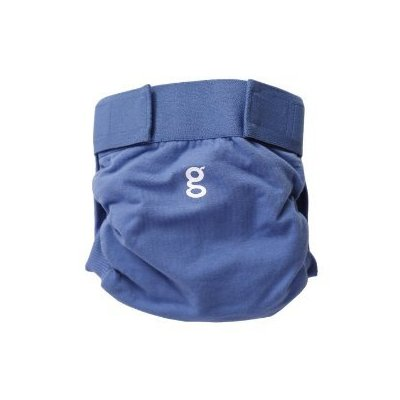 gDiapers are available in a variety of sizes and colors.