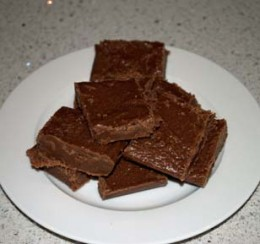 Homemade Chocolate Fudge!
