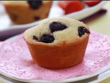 Black cherry muffin