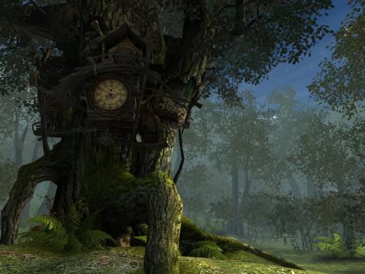 Fantasy forest background 2 by *indigodeep (DeviantART)