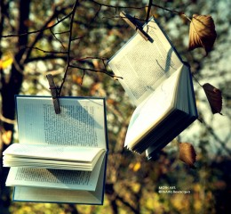books' autumn. by *m0thyyku (DeviantART)