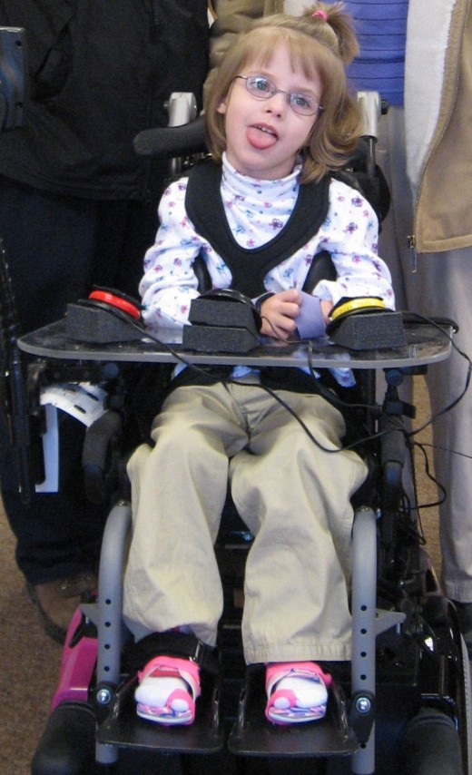 A functional goal can include having your child get around independently in his/her wheelchair
