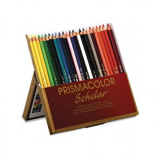 Prismacolor color pencils for artists who like professional results.