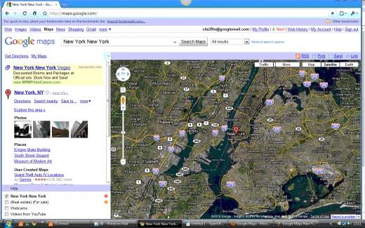 Satellite Overlay