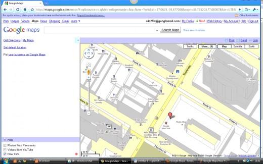 Zoom Map Overlay