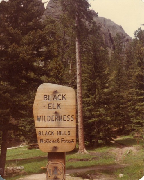 The Black Elk Wilderness, Black Hills National Forest.