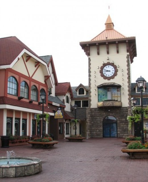 Candy Land Area downtown Wisconsin Dells