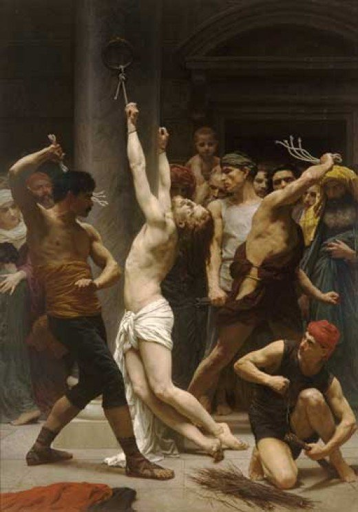 FLAGELLATION of CHRIST (Photo courtesy of http://www.illusiongallery.com/)