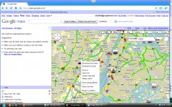 Google Maps Right-Click Tip Drop-down Menu